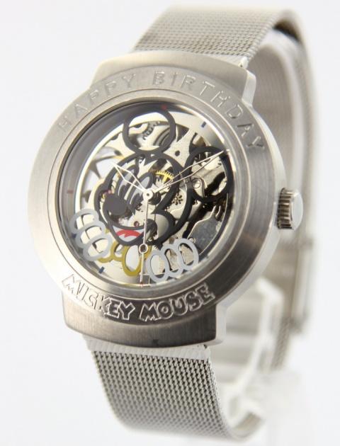watch 0230f 3fc08 ディズニー ミッキーマウス 誕生日記念 800個限定 腕時計の相場 ...